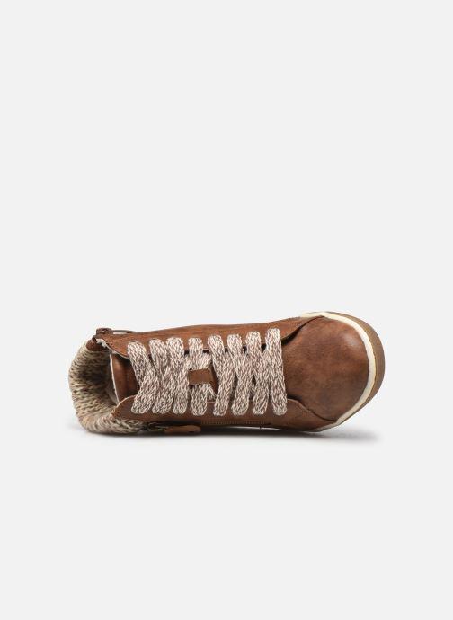Sneaker I Love Shoes SAUCH braun ansicht von links