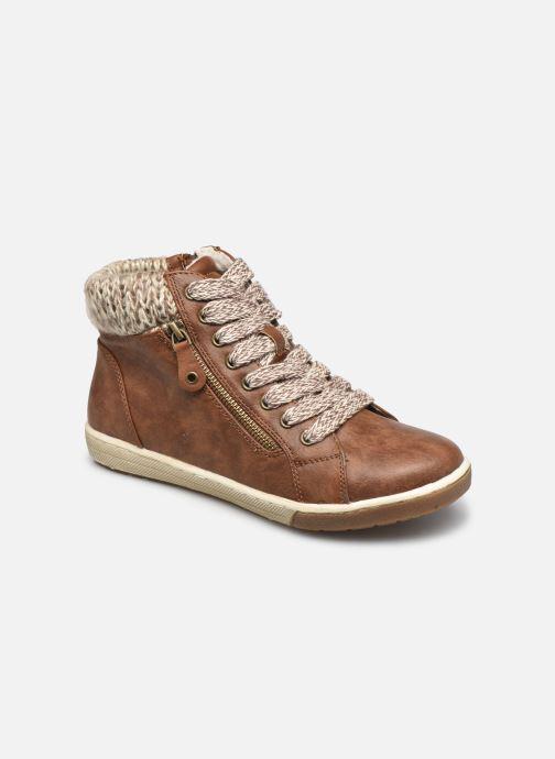 Baskets I Love Shoes SAUCH Marron vue détail/paire