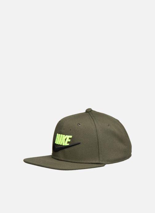 Cappellino Nike Nike Pro Cap Futura 5 Verde modello indossato