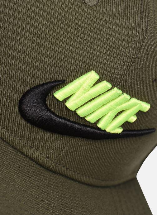 Casquettes Nike Nike Pro Cap Futura 5 Vert vue face
