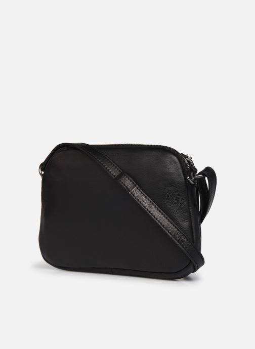 Sacs à main Hexagona ESMA LEATHER CROSSBODY Noir vue droite