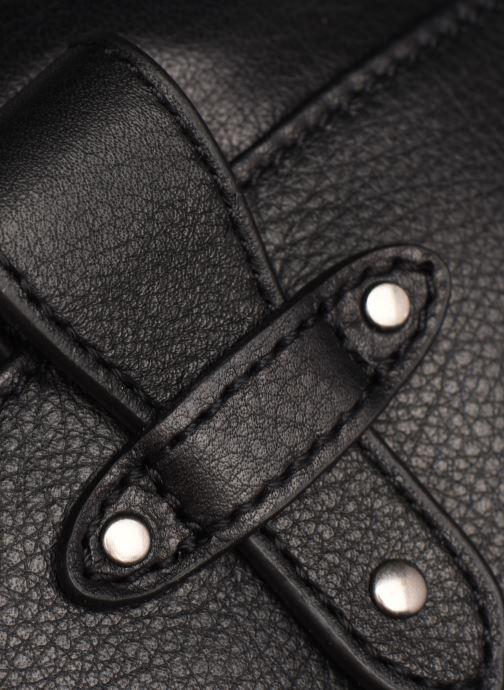 Handtaschen Hexagona ESMA LEATHER CROSSBODY schwarz ansicht von links