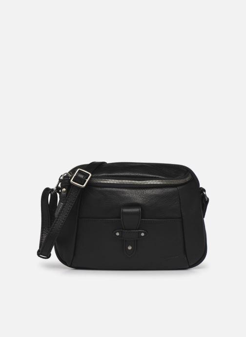 Handtaschen Hexagona ESMA LEATHER CROSSBODY schwarz detaillierte ansicht/modell