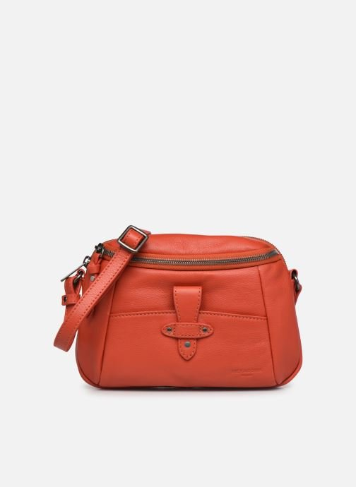 Bolsos de mano Hexagona ESMA LEATHER CROSSBODY Naranja vista de detalle / par