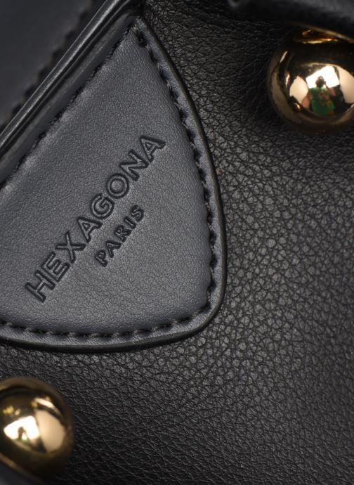 Handtaschen Hexagona ODE CROSS BODY schwarz ansicht von hinten