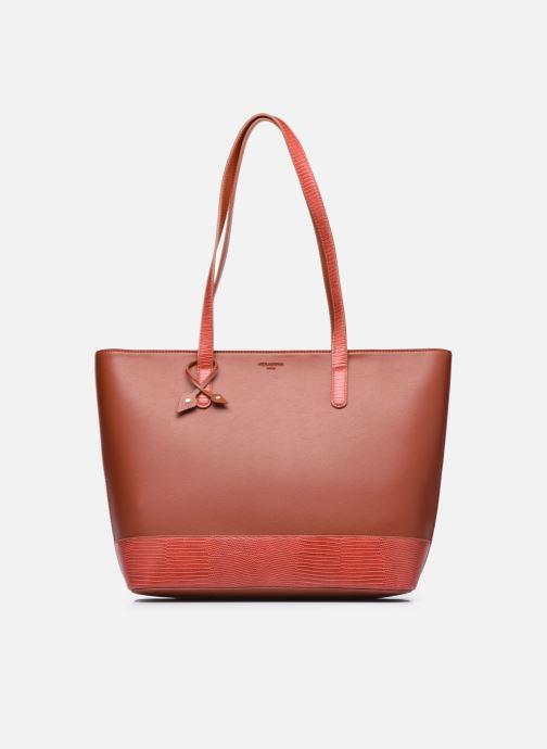 Handtaschen Hexagona POEME CABAS A4 ZIPPE braun detaillierte ansicht/modell