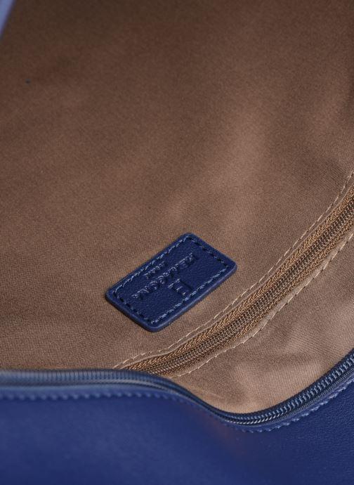 Handtaschen Hexagona POEME CABAS A4 ZIPPE blau ansicht von hinten