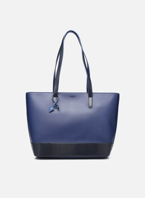 Handtaschen Hexagona POEME CABAS A4 ZIPPE blau detaillierte ansicht/modell