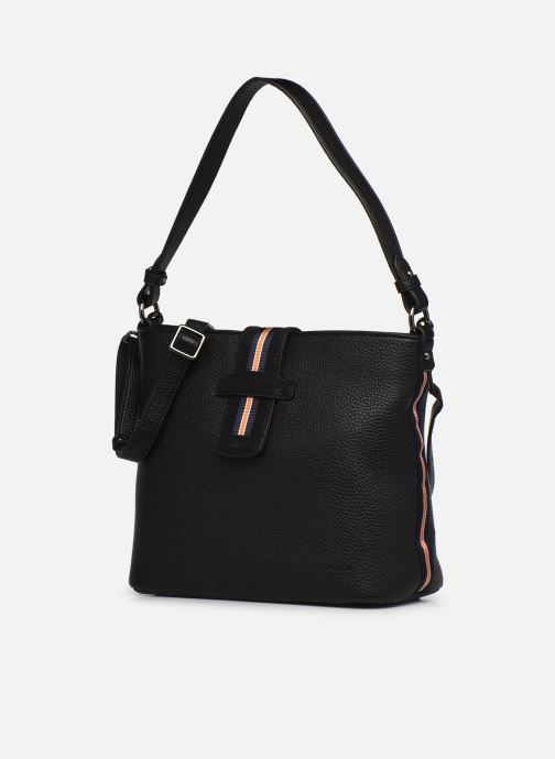 Handtaschen Hexagona CITADINE CROSS BODY schwarz schuhe getragen