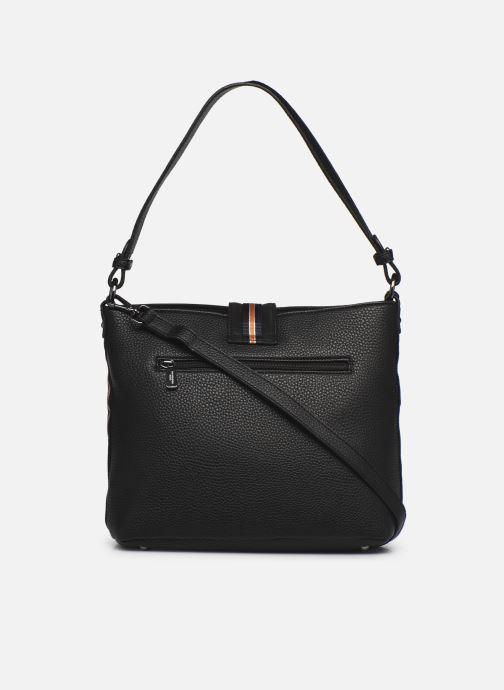 Handtaschen Hexagona CITADINE CROSS BODY schwarz ansicht von vorne
