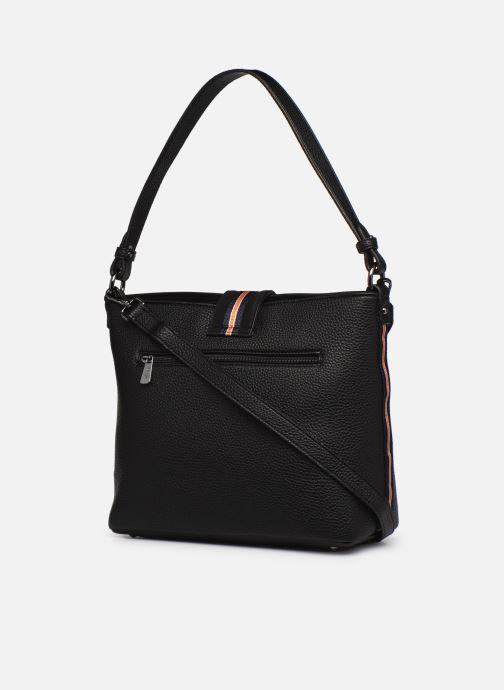 Handtaschen Hexagona CITADINE CROSS BODY schwarz ansicht von rechts
