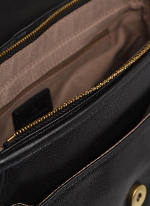 Handtaschen Hexagona DRAGON LEATHER CROSSBODY schwarz ansicht von hinten