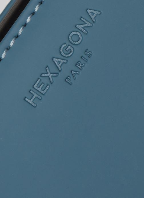Sacs à main Hexagona DUAL CABAS WATERPROOF Bleu vue gauche
