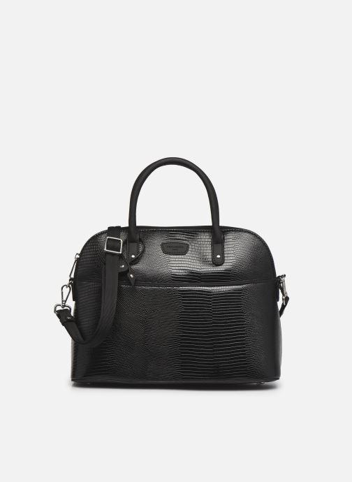 Handtaschen Hexagona EXOTICA PORTE EPAULE schwarz detaillierte ansicht/modell
