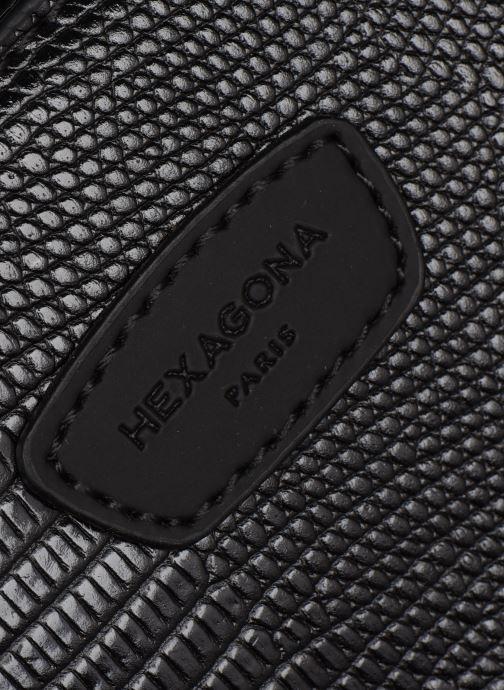 Sacs à dos Hexagona EXOTICA CABAS Noir vue gauche