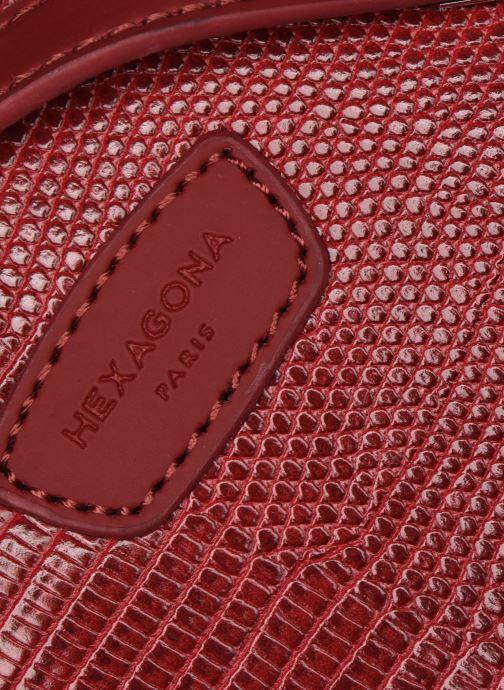 Sacs à dos Hexagona EXOTICA CABAS Rouge vue gauche