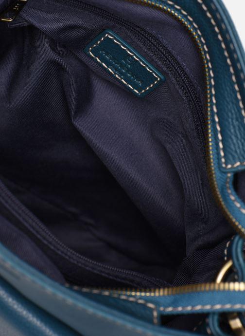 Bolsos de mano Hexagona WILD LEATHER PORTE EPAULE Azul vistra trasera