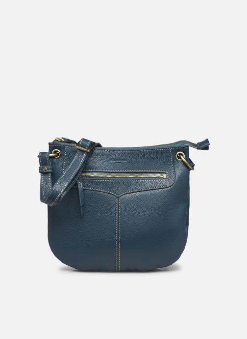 Handtaschen Hexagona WILD LEATHER CROSSBODY blau detaillierte ansicht/modell