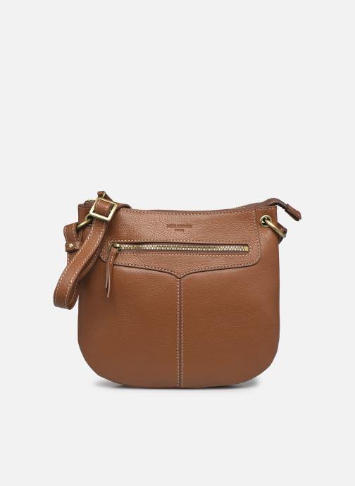 Handtaschen Hexagona WILD LEATHER CROSSBODY braun detaillierte ansicht/modell