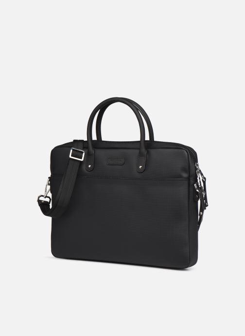 Laptoptaschen Hexagona BUSINESS SLIM 15' A4 schwarz schuhe getragen