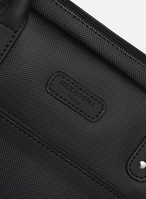Laptoptaschen Hexagona BUSINESS SLIM 15' A4 schwarz ansicht von links