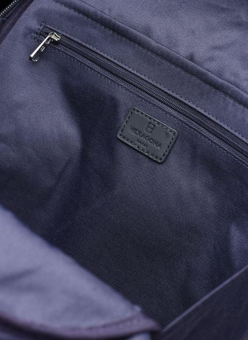 Sacs à dos Hexagona BUSINESS BACKPACK SLIM 15' A4 Bleu vue derrière