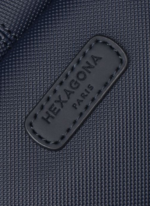 Sacs à dos Hexagona BUSINESS BACKPACK SLIM 15' A4 Bleu vue gauche