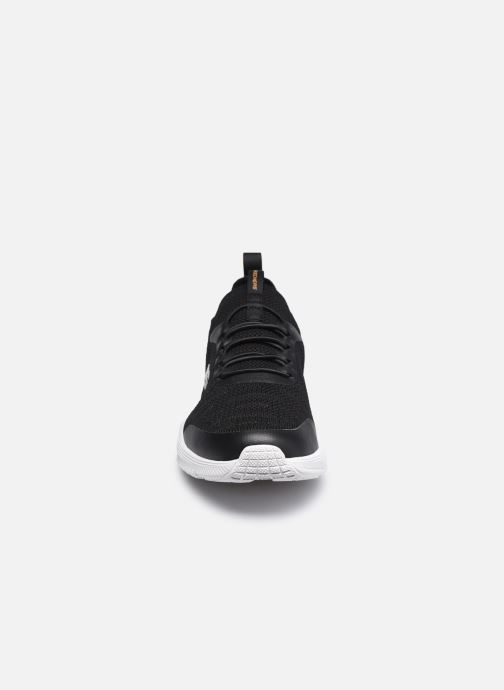 Sneaker Skechers EQUALIZER 4.0 INDECELL schwarz schuhe getragen