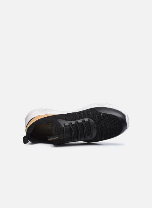 Sneaker Skechers EQUALIZER 4.0 INDECELL schwarz ansicht von links