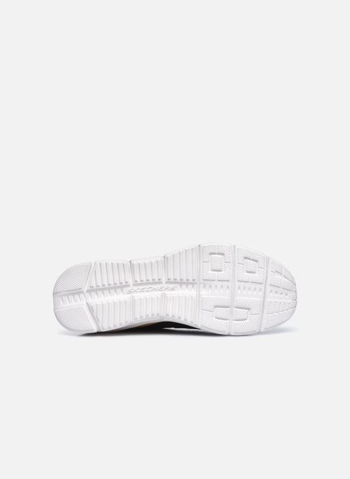 Sneaker Skechers EQUALIZER 4.0 INDECELL schwarz ansicht von oben
