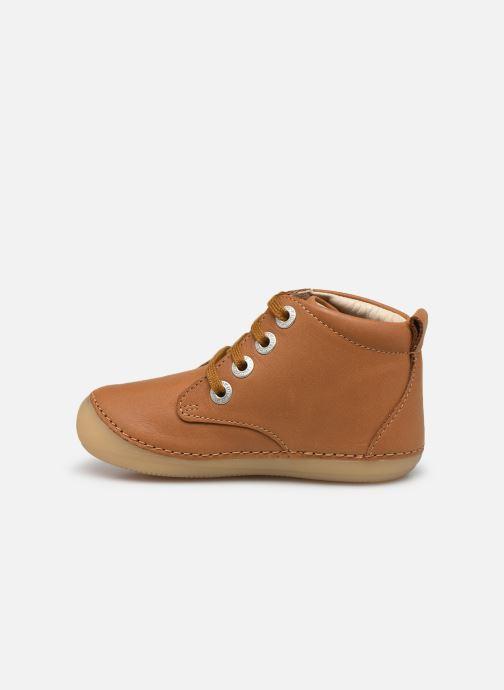 Bottines et boots Kickers Soniza Marron vue face