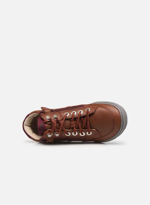 Stiefeletten & Boots Kickers Joula braun ansicht von links