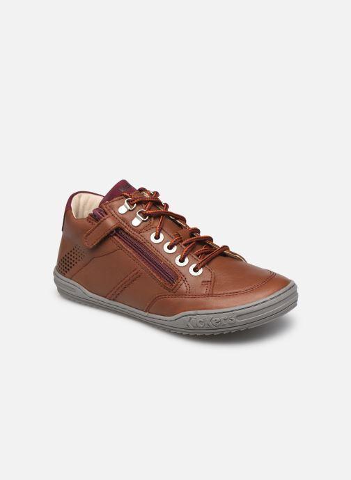 Stiefeletten & Boots Kickers Joula braun detaillierte ansicht/modell
