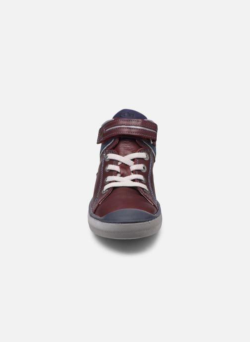 Sneakers Kickers Irelas Marrone modello indossato