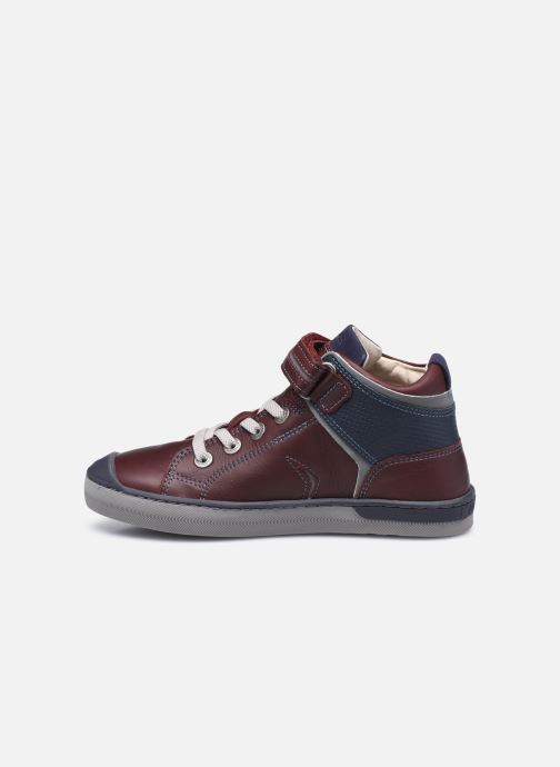 Sneakers Kickers Irelas Marrone immagine frontale