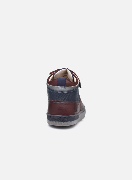 Sneaker Kickers Irelas braun ansicht von rechts