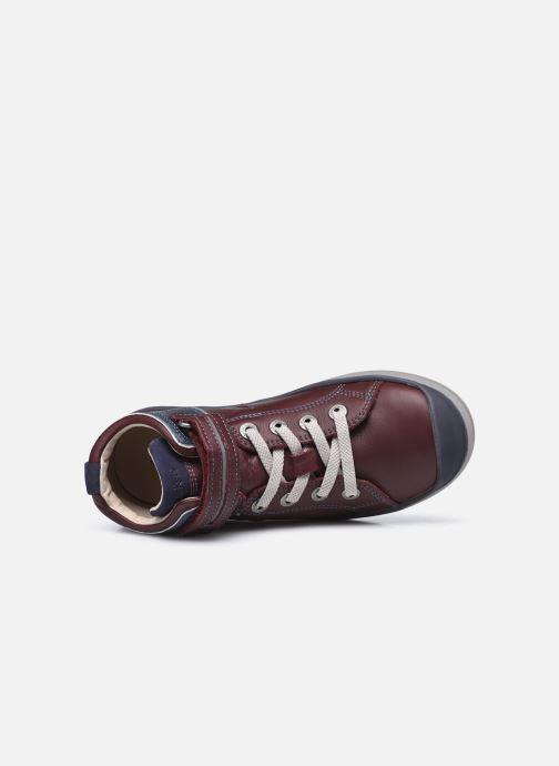 Sneakers Kickers Irelas Marrone immagine sinistra