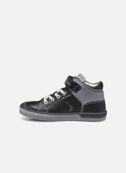 Sneaker Kickers Irelas schwarz ansicht von vorne
