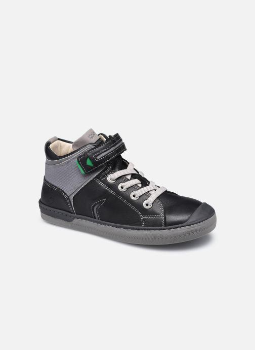 Sneaker Kickers Irelas schwarz detaillierte ansicht/modell