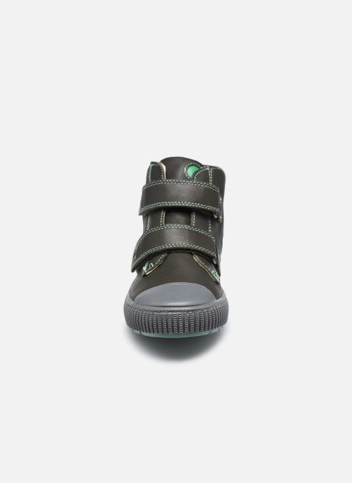 Bottines et boots Kickers Pirlcro Vert vue portées chaussures