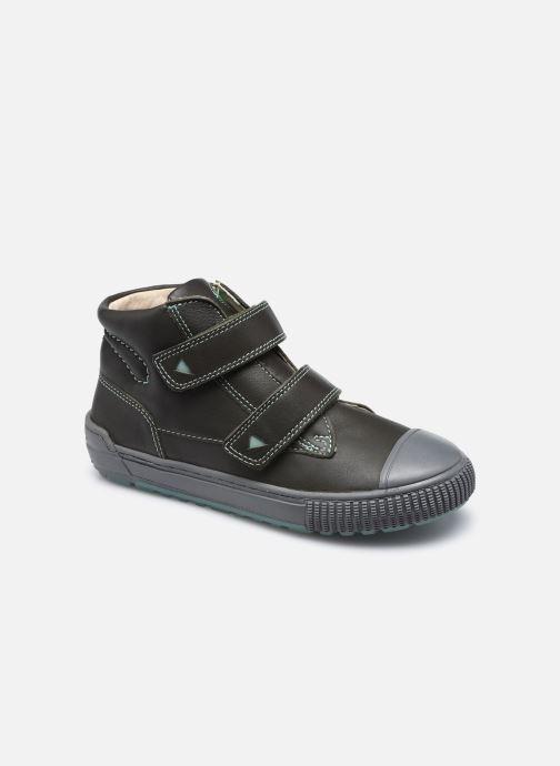 Bottines et boots Kickers Pirlcro Vert vue détail/paire
