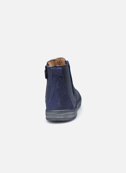 Stiefeletten & Boots Kickers Belky blau ansicht von rechts