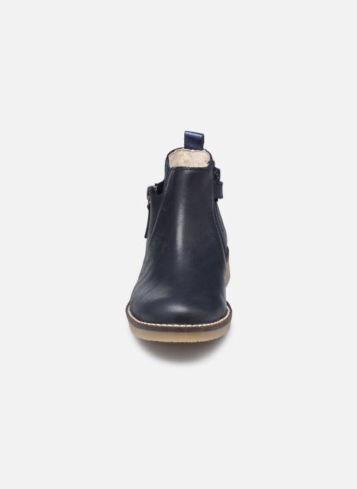 Bottines et boots Kickers Nykki Bleu vue portées chaussures