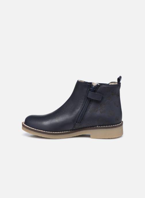 Bottines et boots Kickers Nykki Bleu vue face