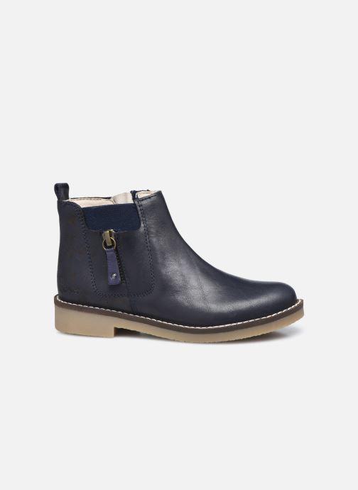 Bottines et boots Kickers Nykki Bleu vue derrière