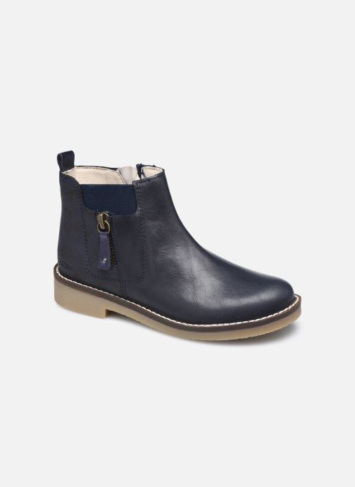 Bottines et boots Kickers Nykki Bleu vue détail/paire