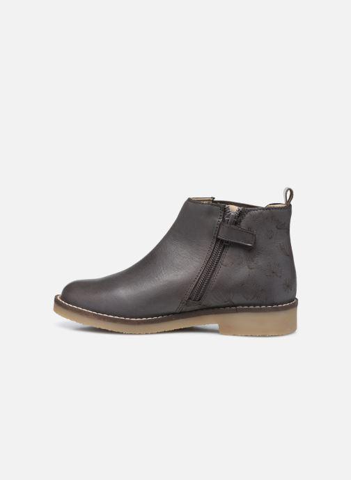 Stiefeletten & Boots Kickers Nykki grau ansicht von vorne