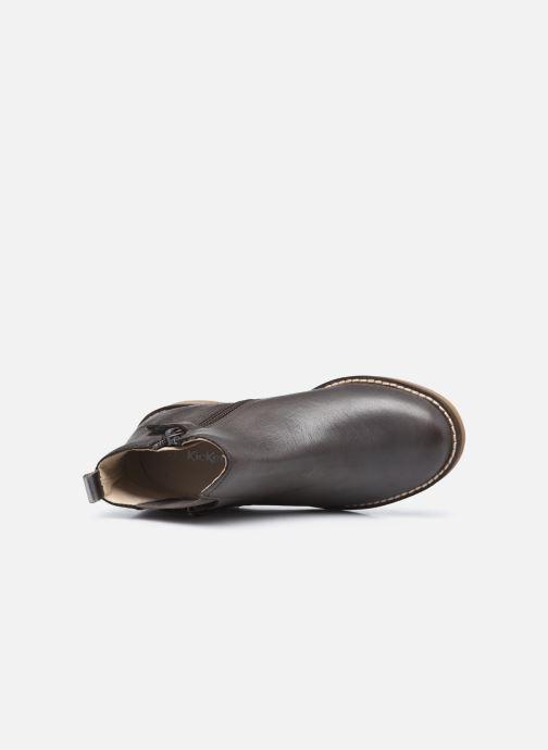 Stiefeletten & Boots Kickers Nykki grau ansicht von links