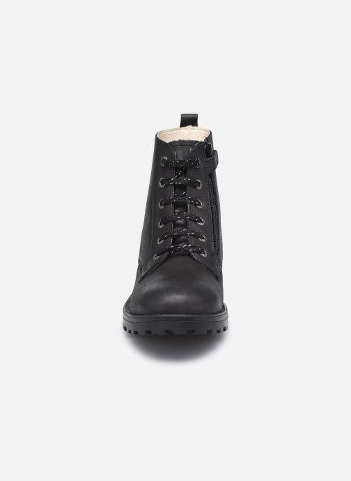 Stiefeletten & Boots Kickers Grooke schwarz schuhe getragen