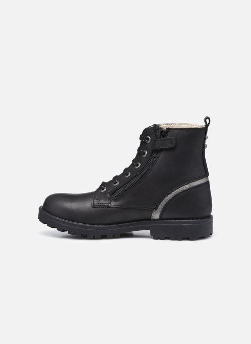 Boots en enkellaarsjes Kickers Grooke Zwart voorkant